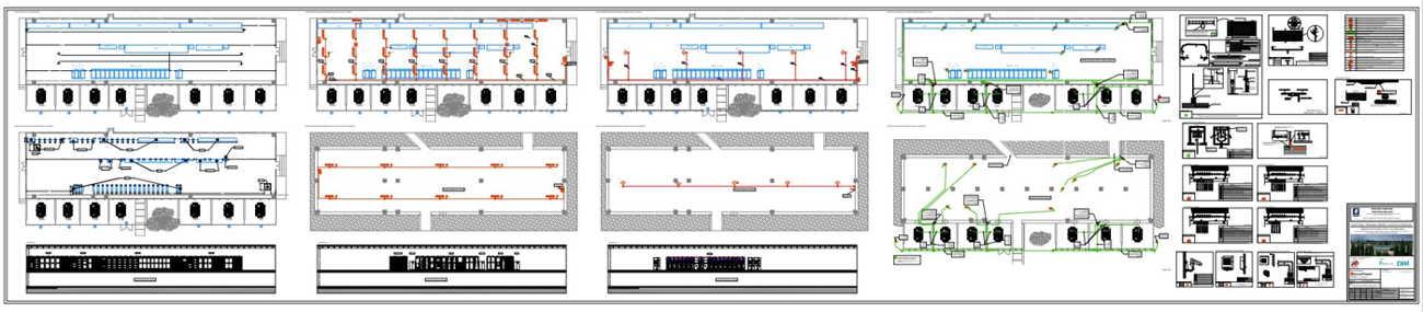 Innova Project_Depuratore Acerra_Quadro Elettrico_Configurazione Rete