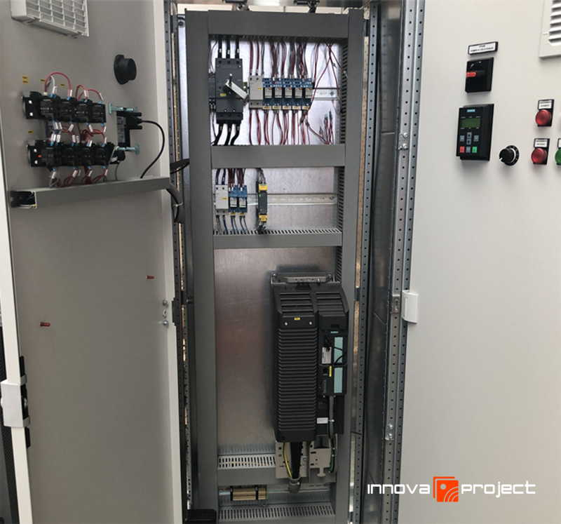 Innova Project_Depuratore Acerra_Quadro Elettrico